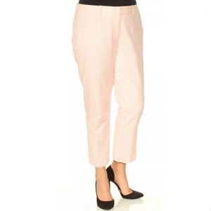 Tommy Hilfiger Pink Cropped Pants Gingham